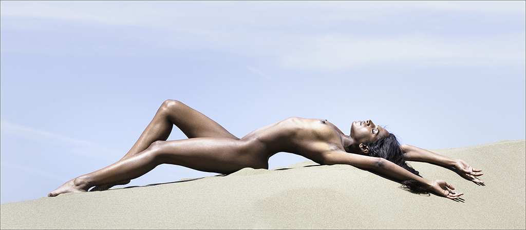 Phillip Kwan_Laying on Sand