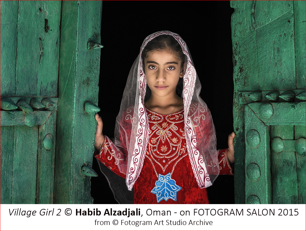 Habib Alzadjali_Village Girl 2