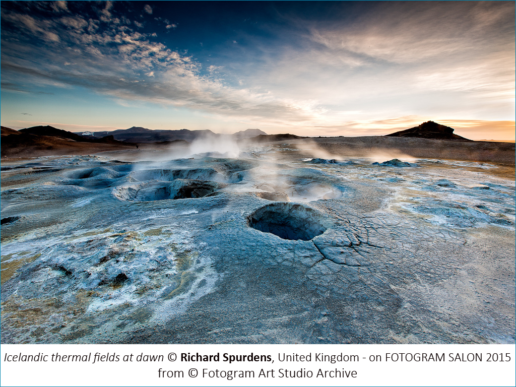 Richard Spurdens_Icelandic thermal fields at dawn